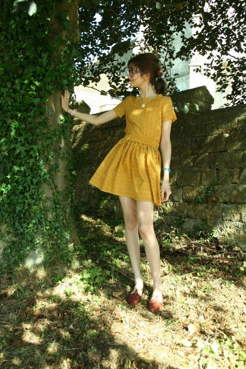 #separates #yellow #burdastyle