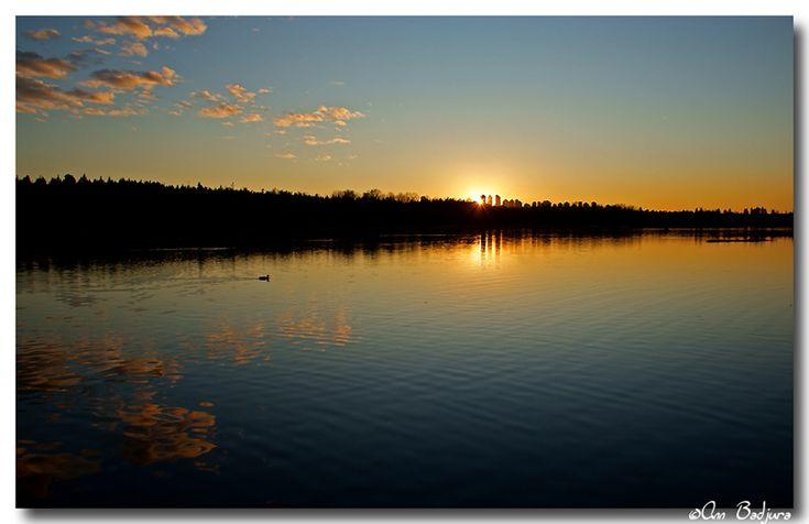 Burnaby Lake sunset - Burnaby, British Columbia