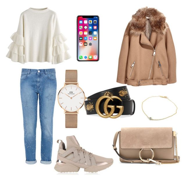 """Untitled #31"" by iuliacalin on Polyvore featuring STELLA McCARTNEY, Puma, Daniel Wellington, Chloé, Tiffany & Co. and Gucci"