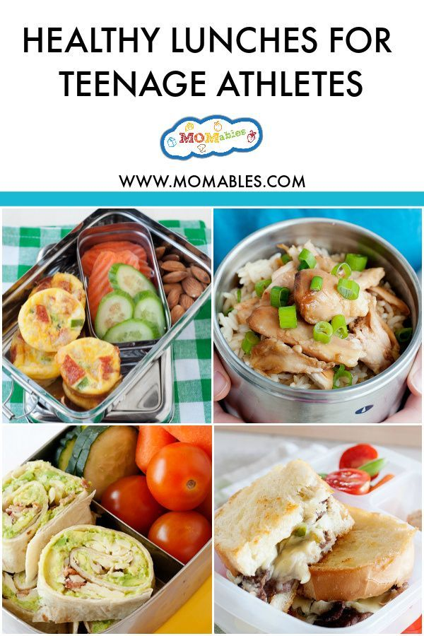Healthy School Lunches For Teenage Athletes Recipe Healthy School Lunches Lunch Healthy Lunch