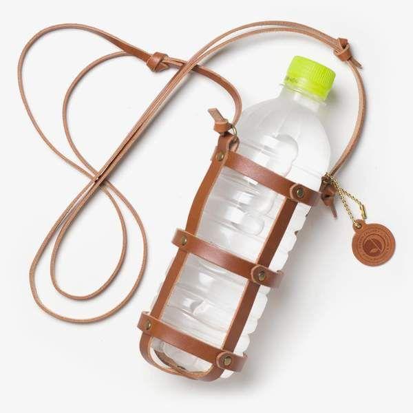 Leder-Flaschenhalter