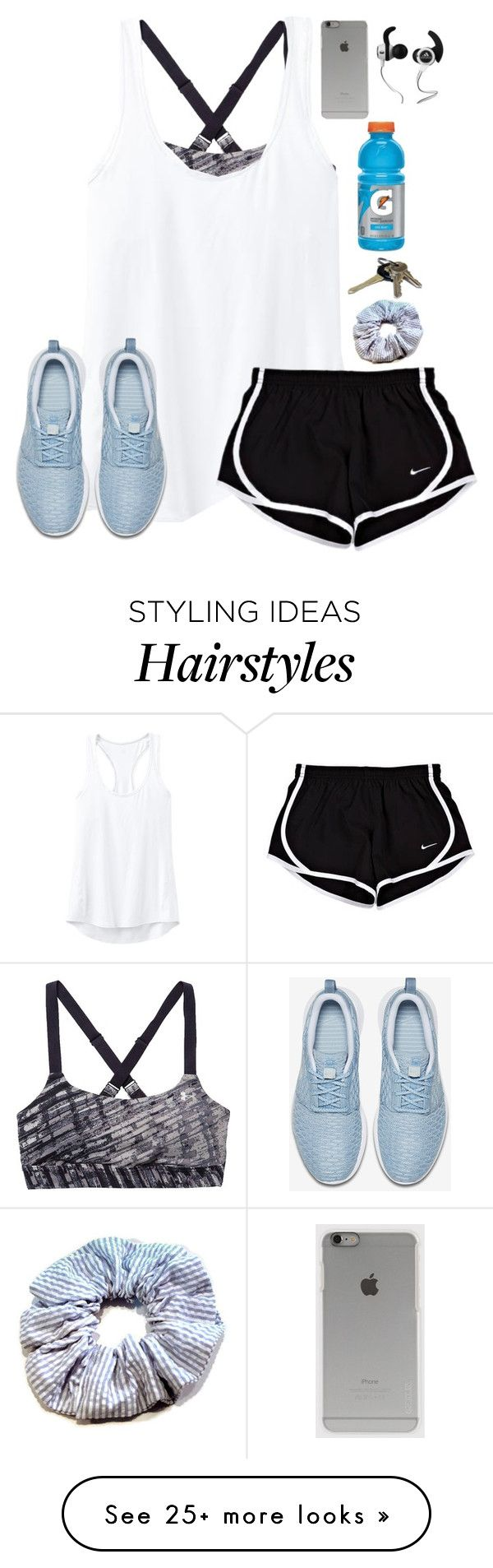 """Leaving for basketball practice"" by lydia-hh on Polyvore featuring moda, Under Armour, Athleta, NIKE, Avon, Incase, Monster, women's clothing, women y female"