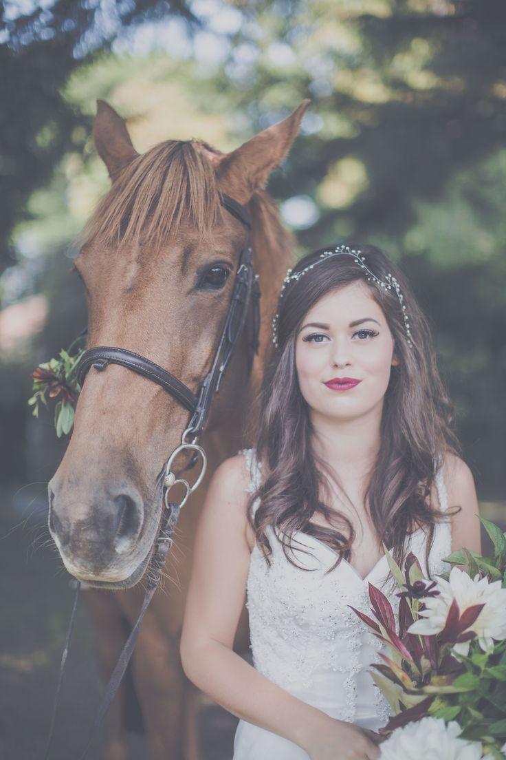 Animal lovers wedding  Bridal Makeup by Laura Mac, North Yorkshire Makeup Artist