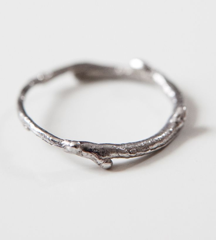 Thin Silver Branch Ring by Kajs on Scoutmob Shoppe