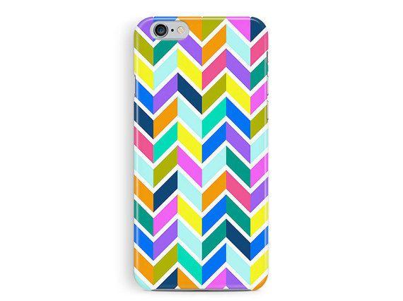 iPhone 5c Case, Chevron phone case, Plastic phone case, Patterned iPhone 5c Case, Geometric 5c Cover, Colourful iphone 5c case, zig zag 5c