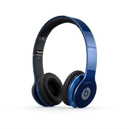 Beats Solo HD Wired On-Ear Headphone - Dark Blue
