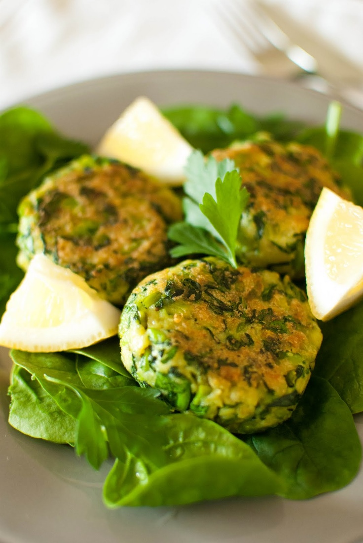 Broad bean burgers by Ottolenghi
