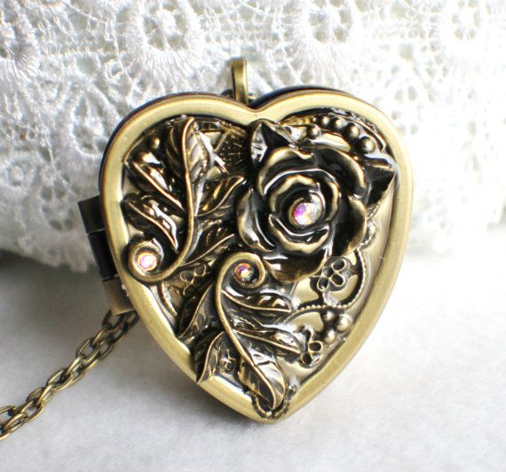 Hey, I found this really awesome Etsy listing at https://www.etsy.com/listing/176395670/music-box-locket-heart-shaped-locket