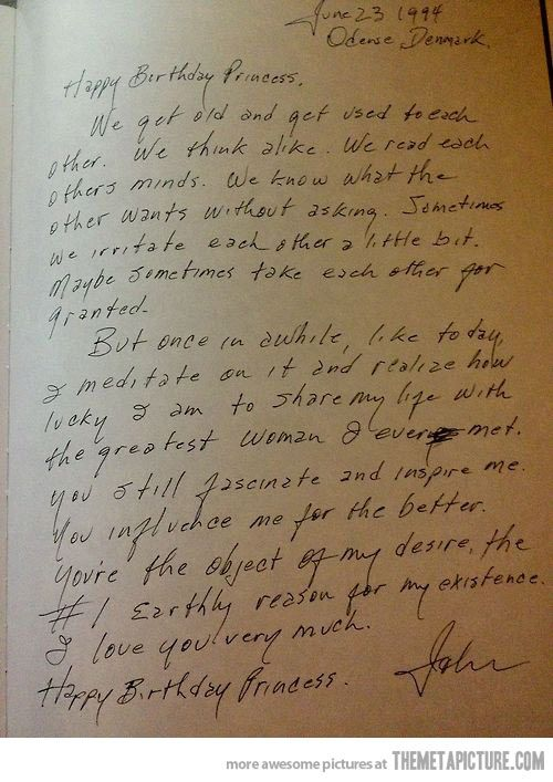 .. Johnny Cash's birthday letter to June…