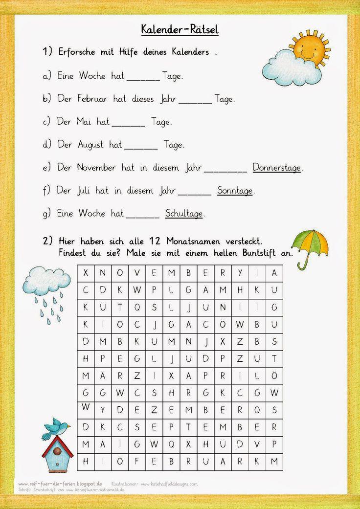 Kalenderrätsel