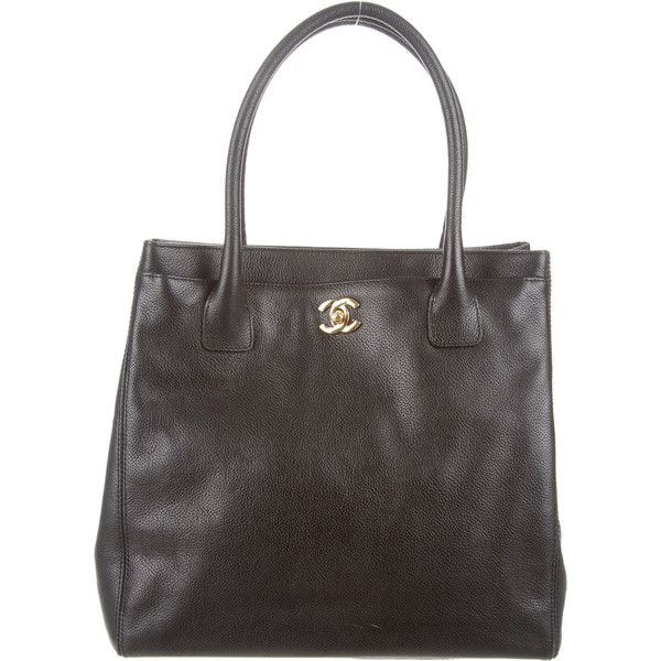 Chanel Cerf Tote ($1,745) ❤ liked on Polyvore featuring bags, handbags, tote bags, black, leather tote, chanel tote, purse pouch, leather zip pouch and woven leather tote
