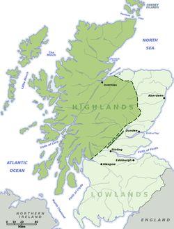 Lowland–Highland divide