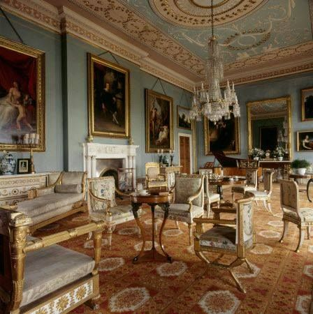 regency in the style of robert adam in this stunning sitting room