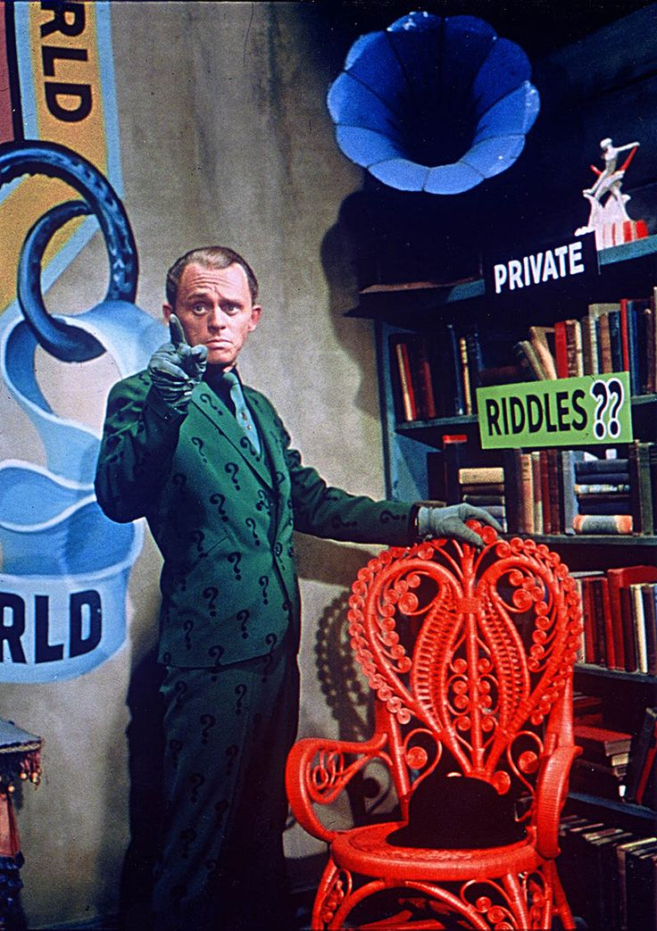 Frank Gorshin as the Riddler from the Batman TV series