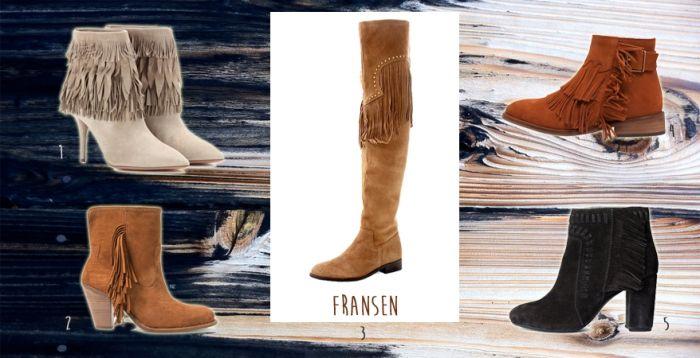 Stiefel-Trends 2015: Fransen