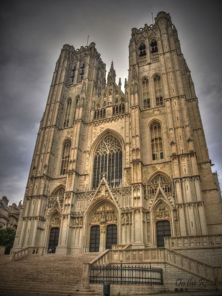 The Cathedral of St. Michael and St. Gudula also known as Brussels Cathedral is one of the oldest and most beautiful churches in Belgium. It dates back to the 11th century and, throughout the centuries its design was changes several times. But on thing has remained the same – the cathedral always towered over the city of Brussels
