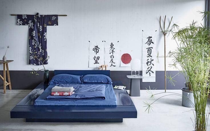 Aziatische stijl slaapkamer | Asian style bedroom | vtwonen 05-2016 | Photography Jeroen van der Spek | Styling Fietje Bruijn