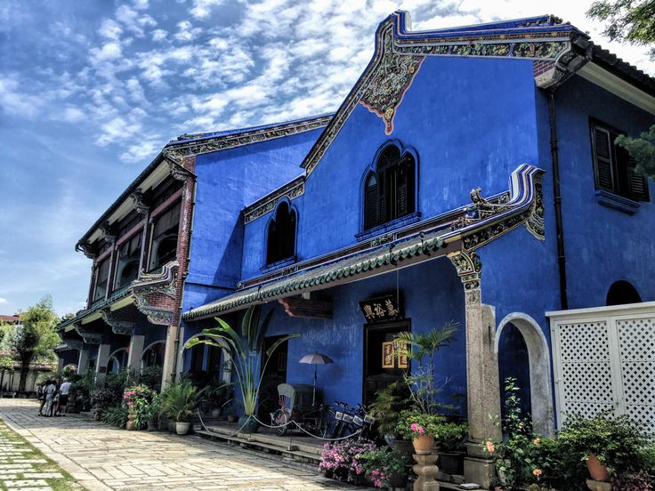 The Blue Mansion in George Town, Malaysia. Part of the Ultimate 3 Day Itinerary in Penang, Malaysia by Wooly Ventures