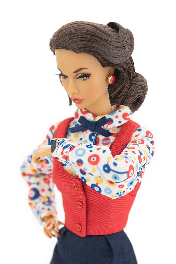 Fashion Royalty Poppy Parker Co-Ed Cutie New Hispanic Body Integrity Doll