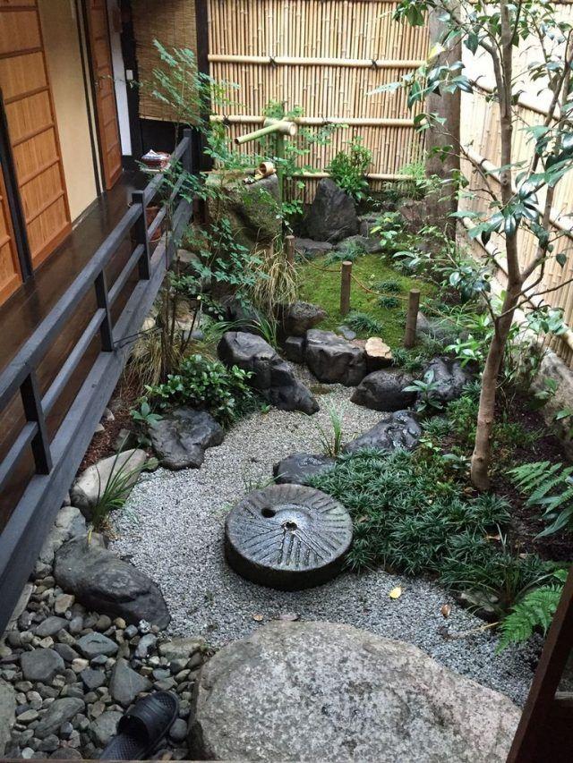 80 Stunning Japanese Zen Gardens Landscape For Your Inspirations Small Japanese Garden Japanese Garden Landscape Japanese Garden