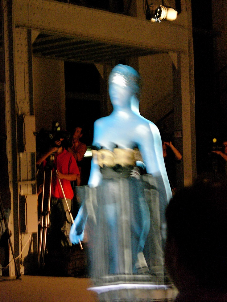 Plastic in the ModaLisboa Lisbon fashion Week. yuuup!  fhu
