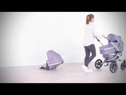 Maxi-Cosi   Nova stroller - Met zijn unieke handsfree inklapsysteem maakt de Nova het ouders wel héél gemakkelijk. En met de grote, schokdempende wielen met antilekbanden rijd je soepel en comfortabel over alle obstakels en iedere ondergrond. De extra gevoerde ergonomische zitting zorgt dat kindje stabiel en comfortabel zit of ligt tijdens zelfs de meest avontuurlijke uitjes. De Nova is een perfecte match met de Oria reiswieg en Maxi-Cosi baby autostoeltjes, voor een stijlvol reissysteem.