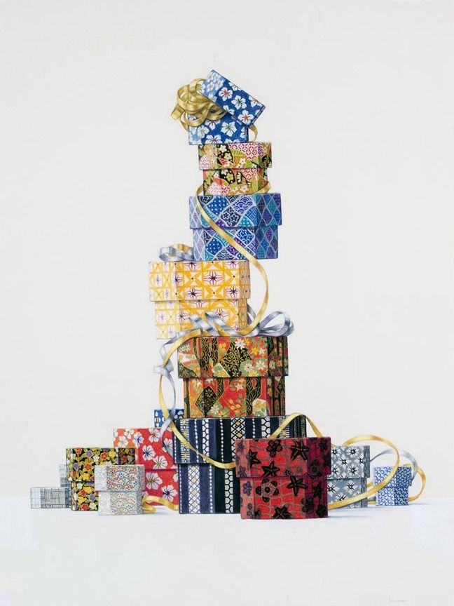 Elizabeth Johansson, 'Stacked Boxes,' 2010, Clark Gallery