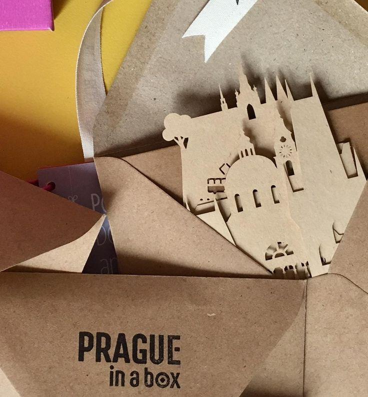 Someone will get this Prague silhouette postcard soon! #contest #prague #postcard #praguepostcard #art #praha #instagood #pragueinabox #praguesilhouette #souvenir #praguesouvenir #paper #craftpaper #craft