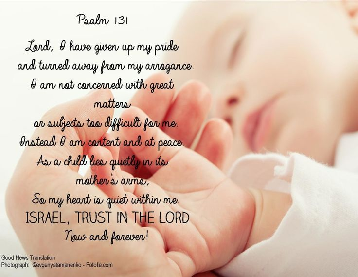 psalm 131 A new favourite of mine!