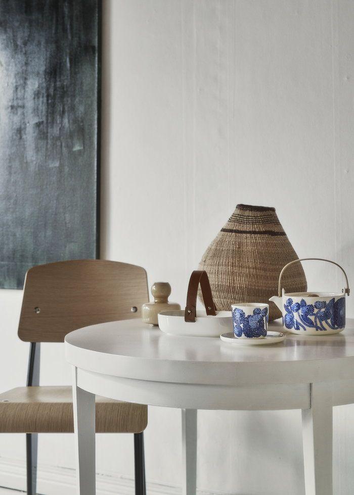 Marimekkos Mynsteri Tableware Koppa Serving Dish And Flower Vase