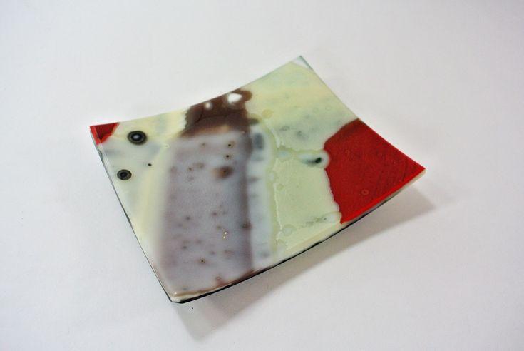 """Silvana Ferrario """"Salt Flats 12"""" Platter.13 x 11 cm."""
