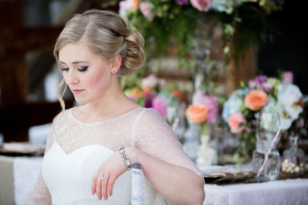 Rustic Romance - Bridal look ideas - The Art of Beauty