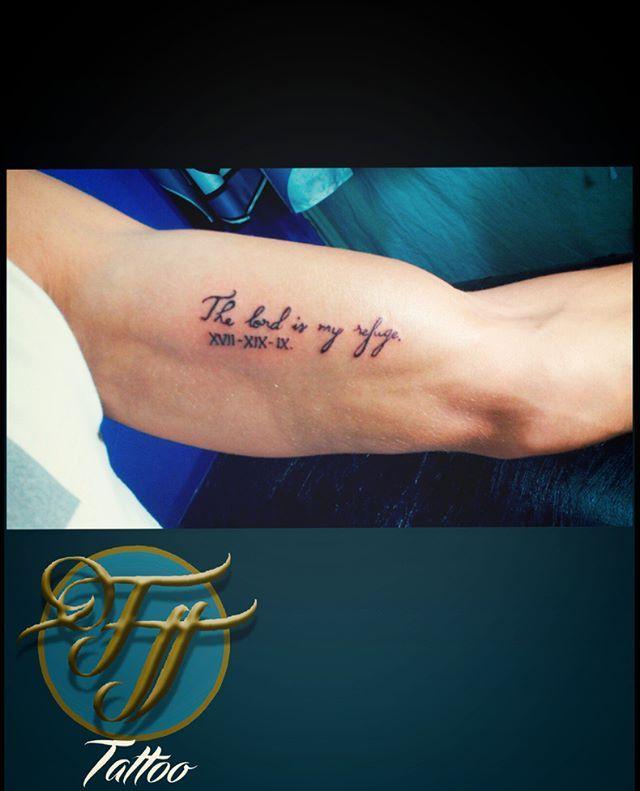 🎨 The lord is my refuge (El serñor es mi refugio) 😇  #tattooColombia #LetteringTattoo #TattooBogotá #Tattoo #TatuadoresColombia #TattooArtist #LoveTattoos #ColombiaTattoo #Tatuajes #Tatuajefrase #Dios #BogotaTattoo #MinimalistTattoo #Bogota #Colombia #Ink #Tattooed #Tattoos #inkedup #tattoolifestyle #inklife #tattootime #tattoostudio #Arm #Phrasetattoo #tattooArt #GodTattoo #tattoolife #God