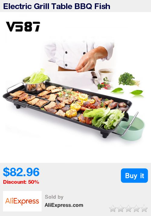 Electric Grill Table BBQ Fish Household Iron Disc Smokeless Barbecue Stove Nonstick Oven Hotplate Roast Meat Equipment For Party * Pub Date: 12:26 Jul 7 2017