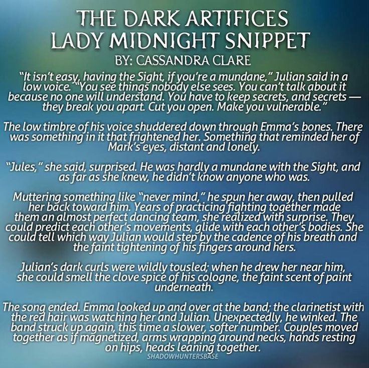 """""""- Cassandra Clare released a new snippet for The Dark Artifices: Lady Midnight!! (Via @cassieclare1 Tumblr)"""""""