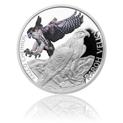 Stříbrná mince 1 NZD Ohrožená příroda - Raroh velký proof | Česká mincovna
