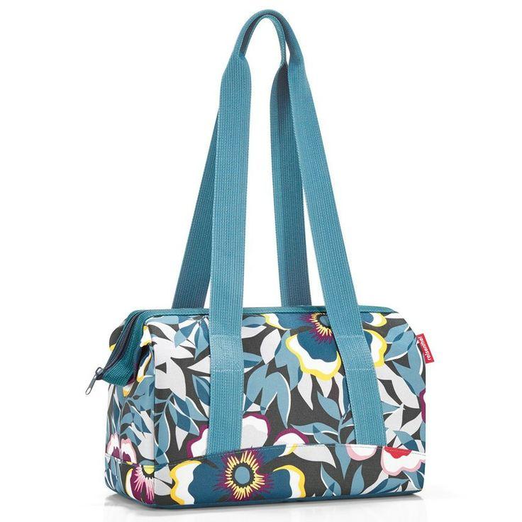 Bolso para Viajar S Azul con Flores Reisenthel http://www.tutunca.es/bolso-para-viajar-s-azul-con-flores-reisenthel