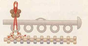securing sliding clasps  #Seed #Bead #Tutorials