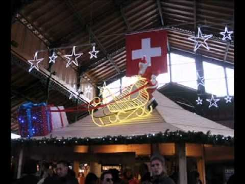 Mercatino di Natale a Montreux e castello di Chillon (music copyright of...