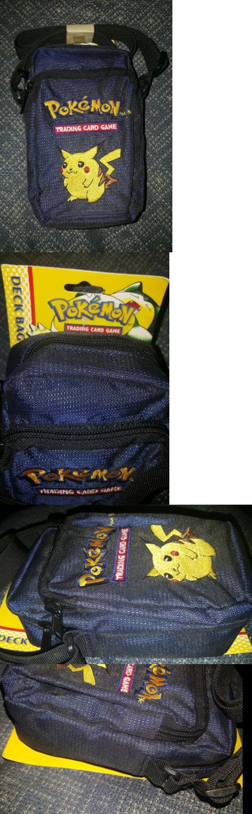 Other Pok mon TCG Items 2608: New Pokemon Deck Bag Very Rare!! Wotc Holds Trading Cards And More. Pikachu 1998 -> BUY IT NOW ONLY: $35 on eBay!