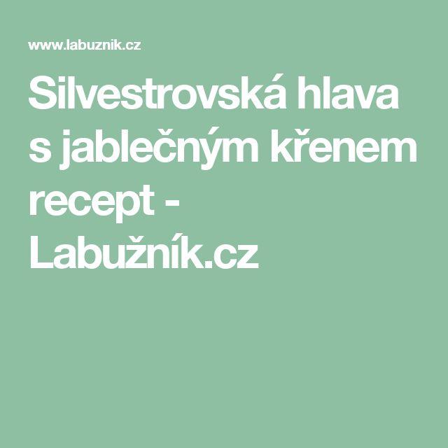 Silvestrovská hlava s jablečným křenem recept - Labužník.cz