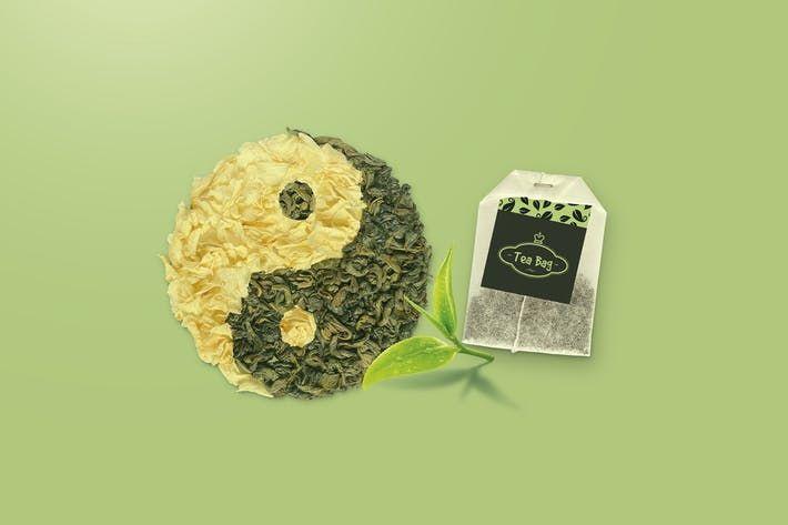 Download Tea Bag Mock Up By Streetd On Envato Elements Tea Bag Mockup Graphic Design Tutorials