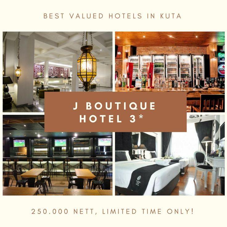 J Boutique Hotel Kuta Bali From 250k NETT Jan Only