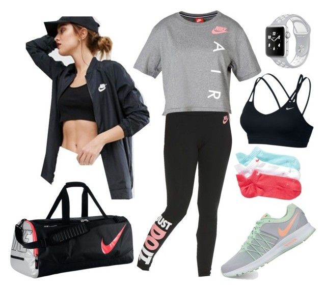 """""""NIKE Just Do It."""" by real-21c on Polyvore featuring NIKE"""