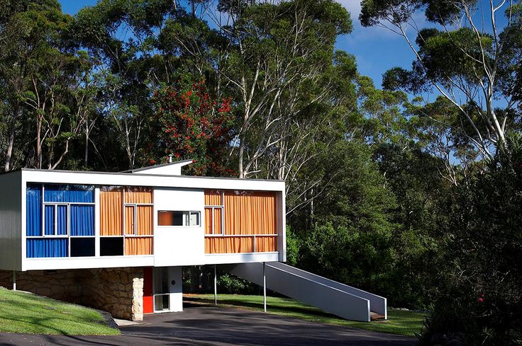 Rose Seidler House, Wahroonga. Pinned by Secret Design Studio, Melbourne. www.secretdesignstudio.com