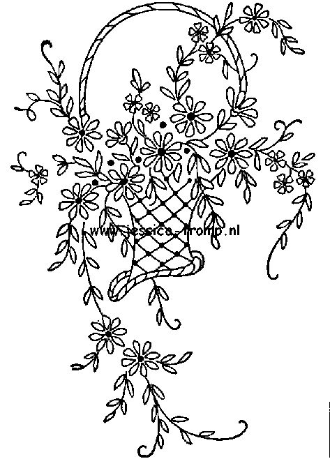 antique embroidery designs borduren (0).png 473×658 pixels