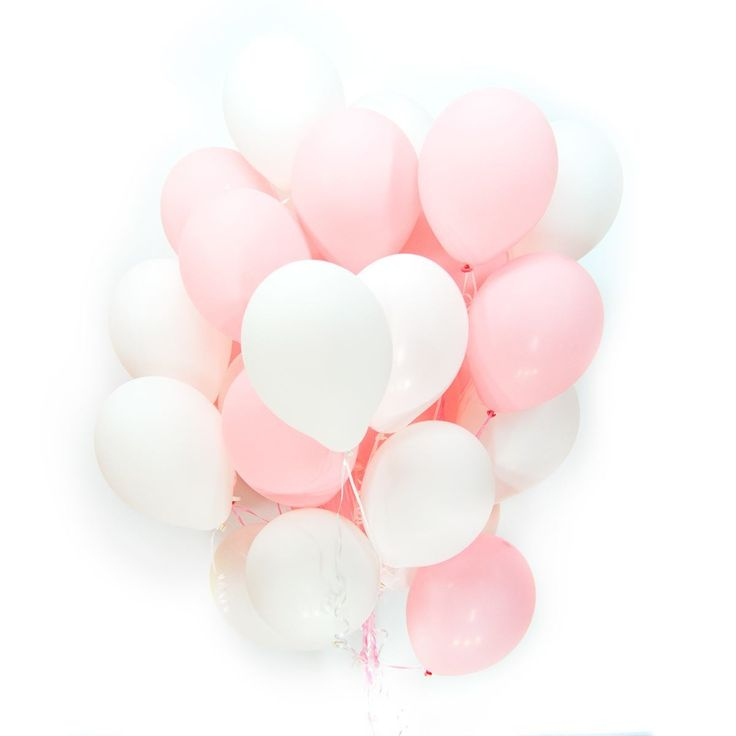 В интернет-магазине «Шарики24» Вы можете купить шарик Бело-розовые шарики в Москве недорого с доставкой.