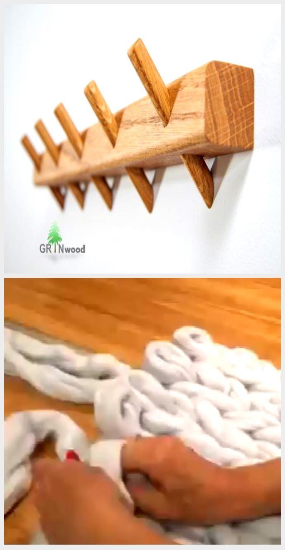 Badezimmer Handtuchhalter Holz Pflocke Handtuch Aufhanger Kuche Wand Handtuch Rack Bad Lagerung Wandhalterung Holz Handtuch Haken In 2020 Clothes Hanger Hanger Stick