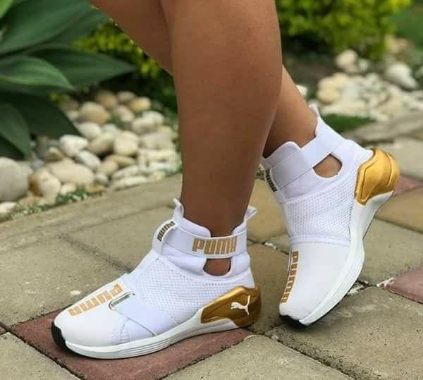 Sneakers fashion, Puma shoes women