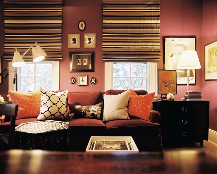 105 Best Living Room Red Accents Images On Pinterest